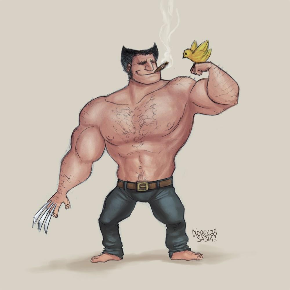 Wolverine by Lorenzo Sabia