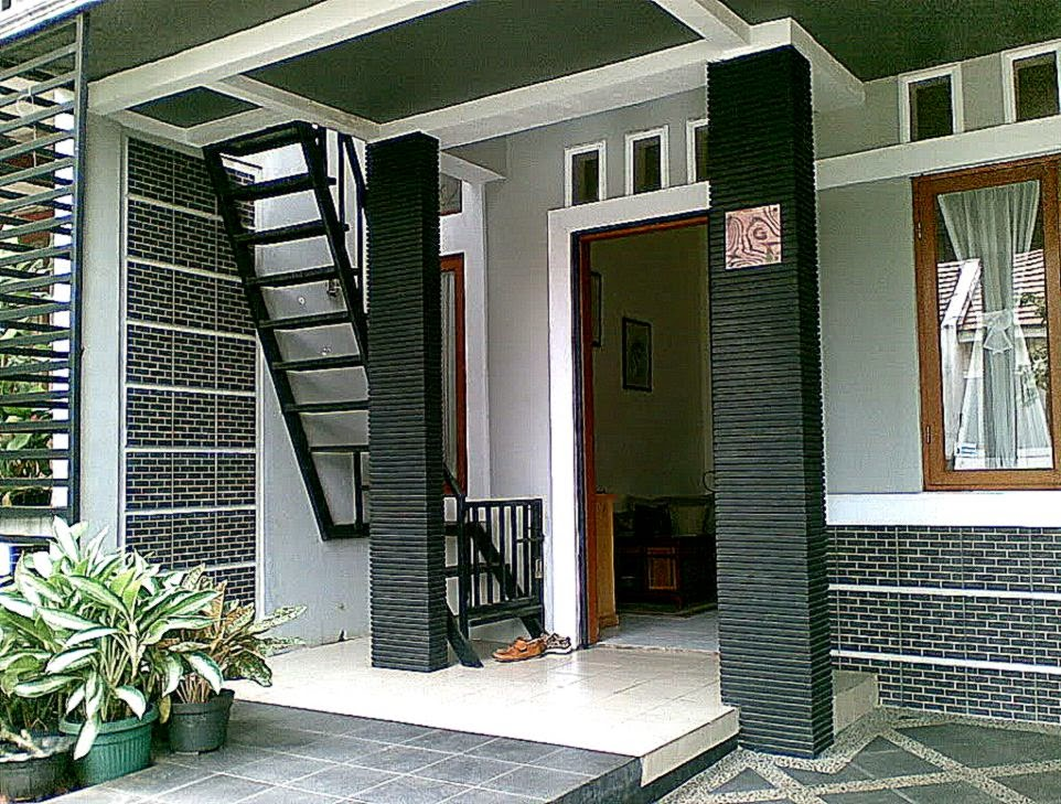Foto Contoh Desain Teras Rumah Minimalis Terbaru 2014  Desain