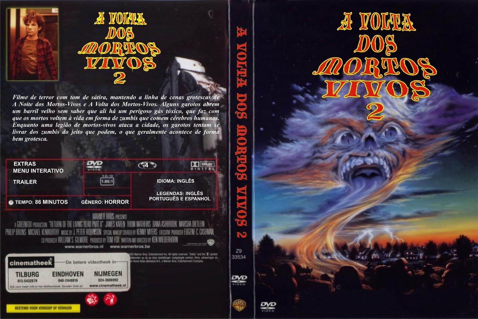A Volta Dos Mortos Vivos 2 DVD Capa
