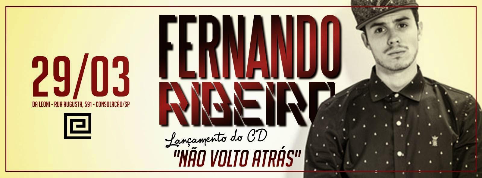 Rapper Fernando Ribeiro lança seu primeiro disco no Da Leoni