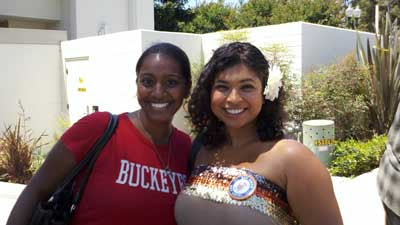 Sharon Muthu and Aarti Sequeira