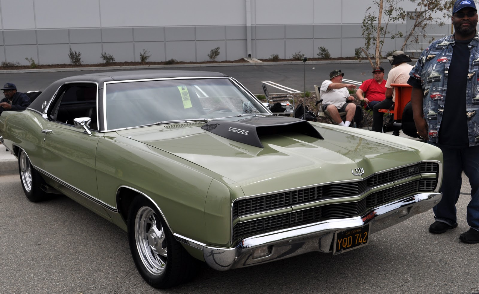 Just A Car Guy: Big 70\'s cars, big scoops... an LTD with a 429 ...