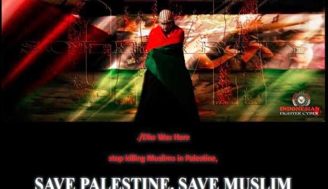 Hacker Indonesia Tumbangkan Situs-Situs Israel