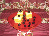 Fruit and pudding cream