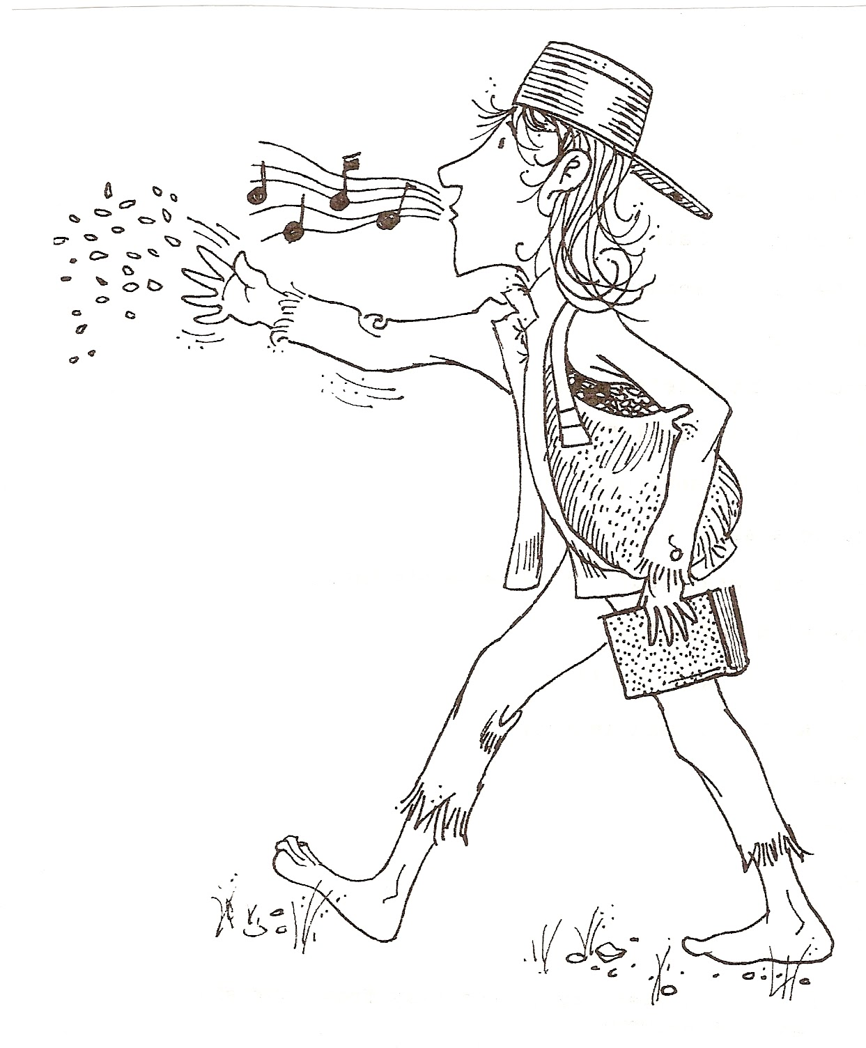 Free Coloring Pages Of How Do Apples Grow Johnny Appleseed Coloring Page