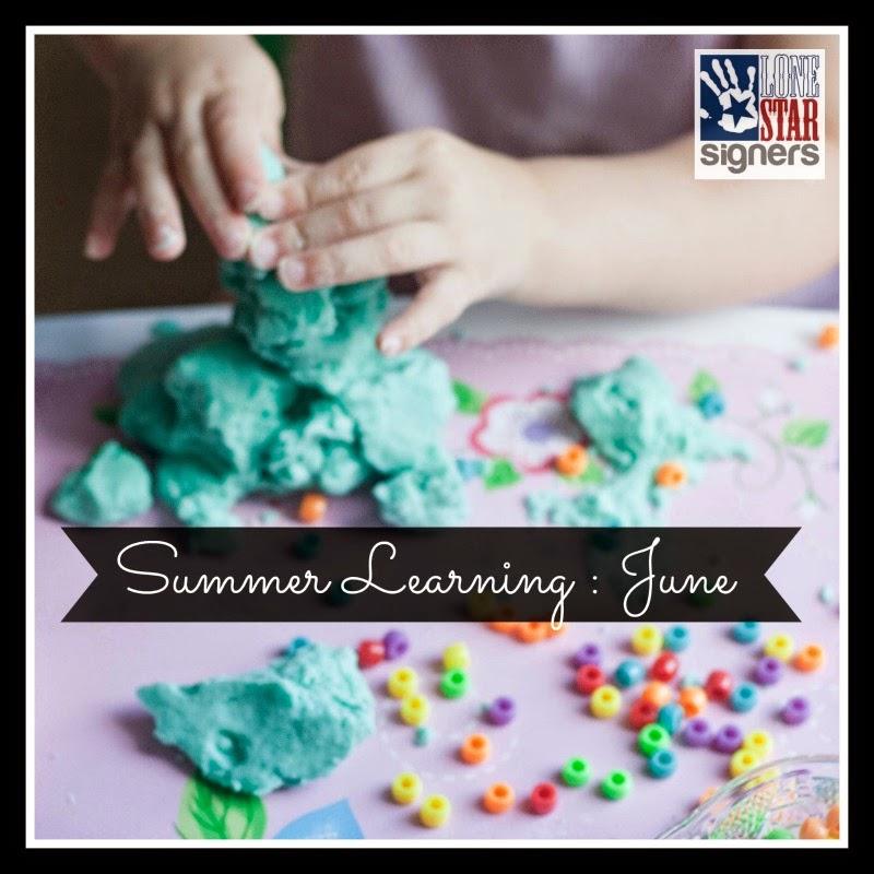 Summer Learning Plans: June