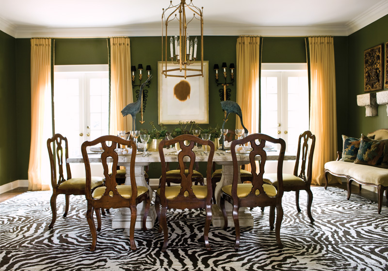 Pantone announces colour of the year for Olive green dining room ideas