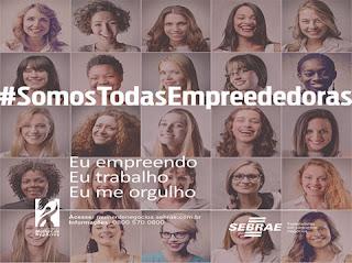 Prêmio Sebrae Mulher de Negócios de Teresópolis - Inscrições até 31 de julho
