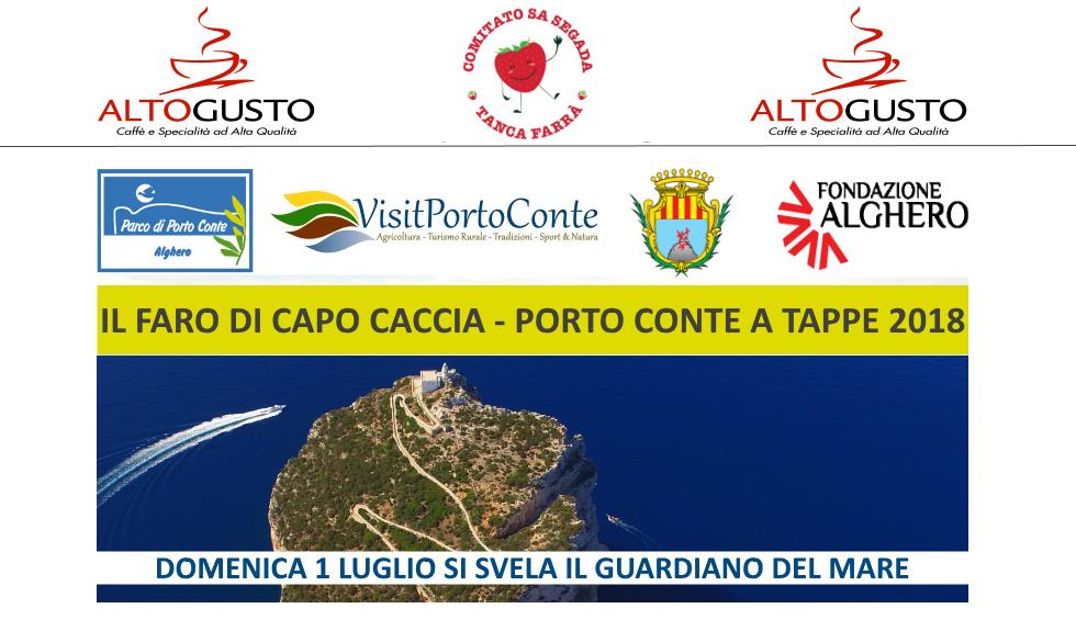 Faro di Capo Caccia - Porto Conte a Tappe 2018 - Corri - Cammina - Pedala - Nuota - Pagaia