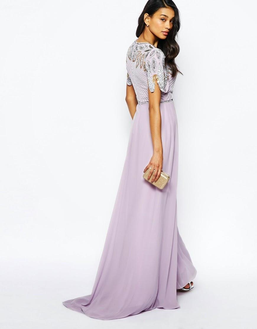 Virgos Lounge long purple dress
