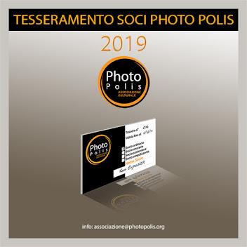 Tesseramento Photo Polis 2019