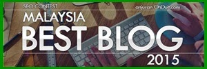 Malaysia Best Blog2015