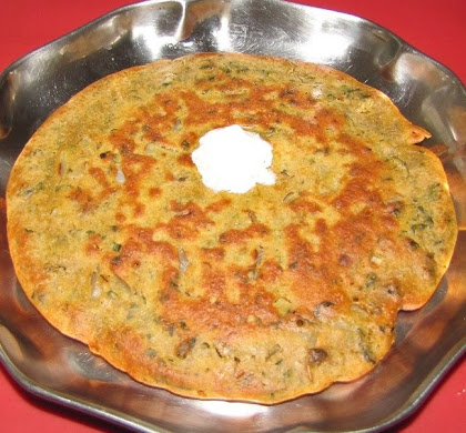 Fenugreek Pancake (Methi Pancake)