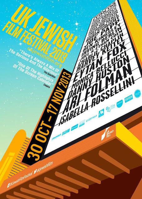 UK Jewish Film Festival 2013 Poster