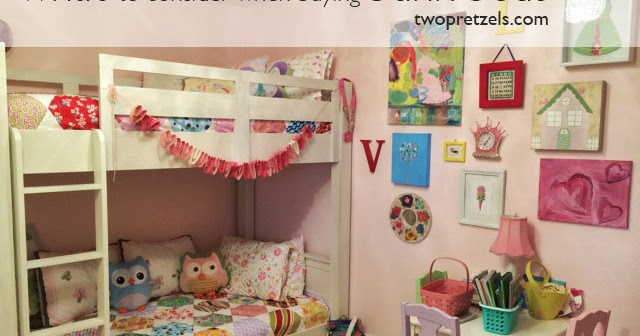 Girls Bunk Beds With Sofa Sleeper