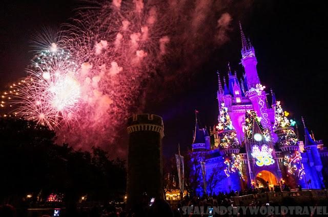 東京迪士尼樂園, Tokyo Disneyland, firework