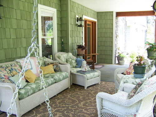 Decorating ideas to porch best home interior design Front veranda decorating ideas