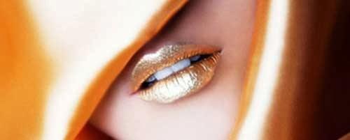maquillaje de labios de fantasia