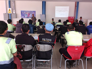 pelatihan shrinkage serikat pekerja linfox logistik indonesia