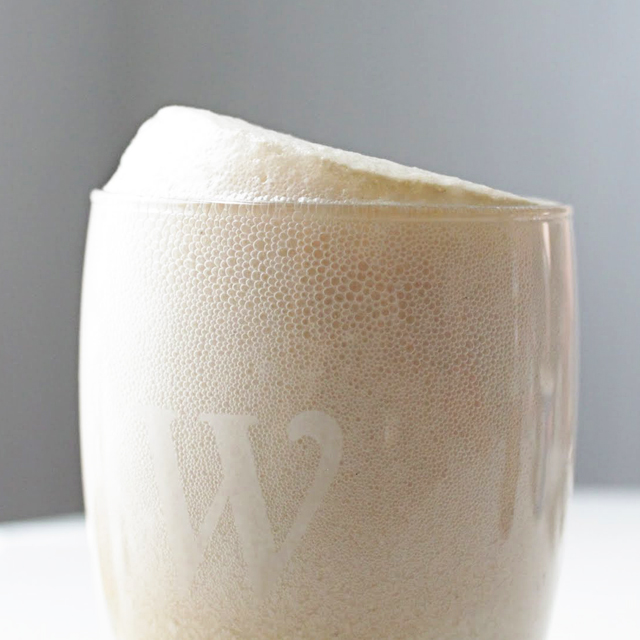 ... pour bourbon over ice cream 3 fill glass to top with cream soda enjoy