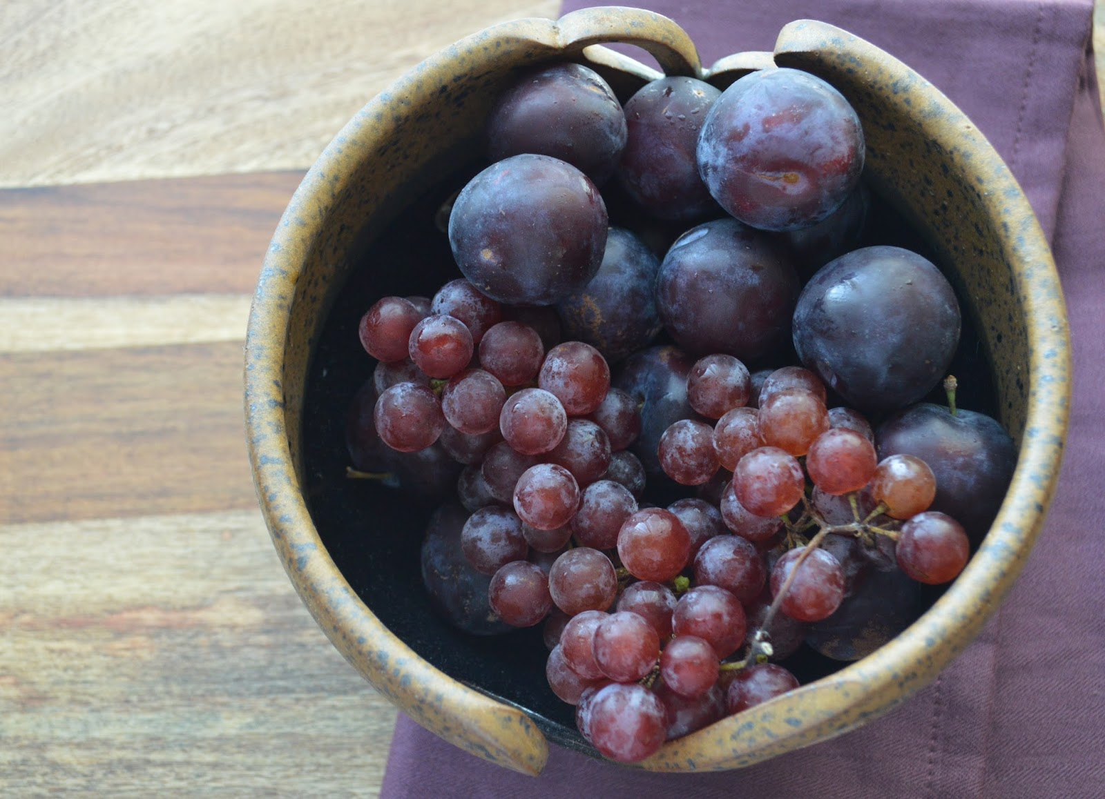 The Messy Apron: Plum and Grape Galette