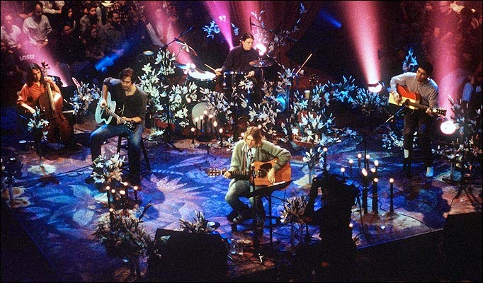 Nirvana - MTV Unplugged In New York (1994) art of sound grunge kurt cobain groh nososelic chronique photo picture image