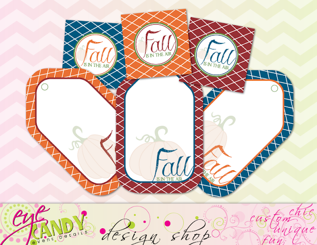 gift tags for fall, gift giving tags, fall is in the air, fall hangtag, pumpkin