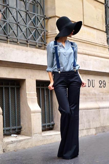 Moda de rua Paris - Street style - Fashion street look de ganga