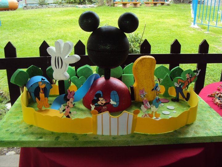 Mariale eventos marzo 2012 for Decoracion la casa de mickey mouse