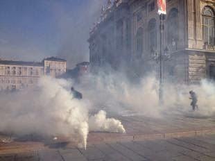 Torino scontri sammit vertice ue 2014 17 ottobre