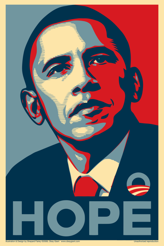 Creator of obama hope poster lied to court about artwork faces jail