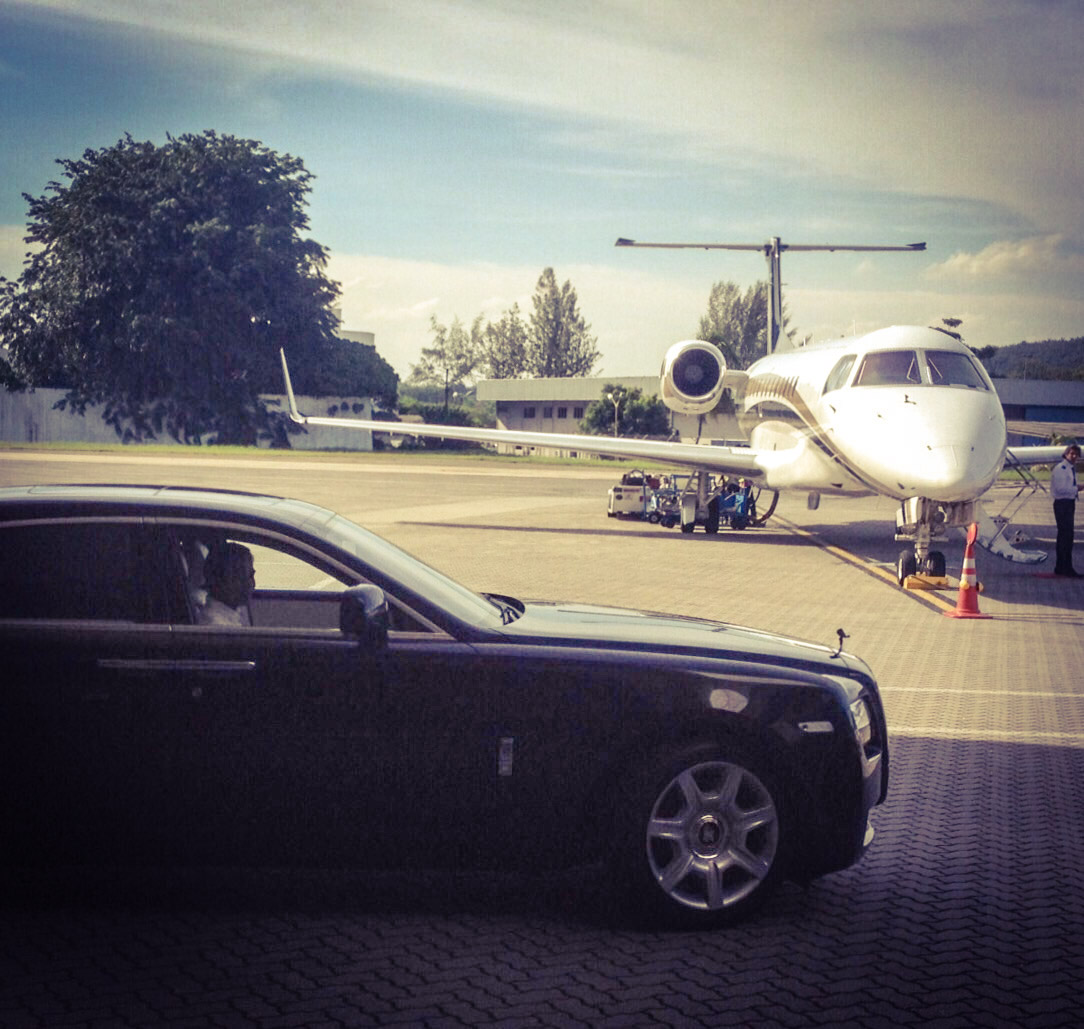 Private Jet And Rolls Royce  Wwwimgkid  The Image Kid Has It