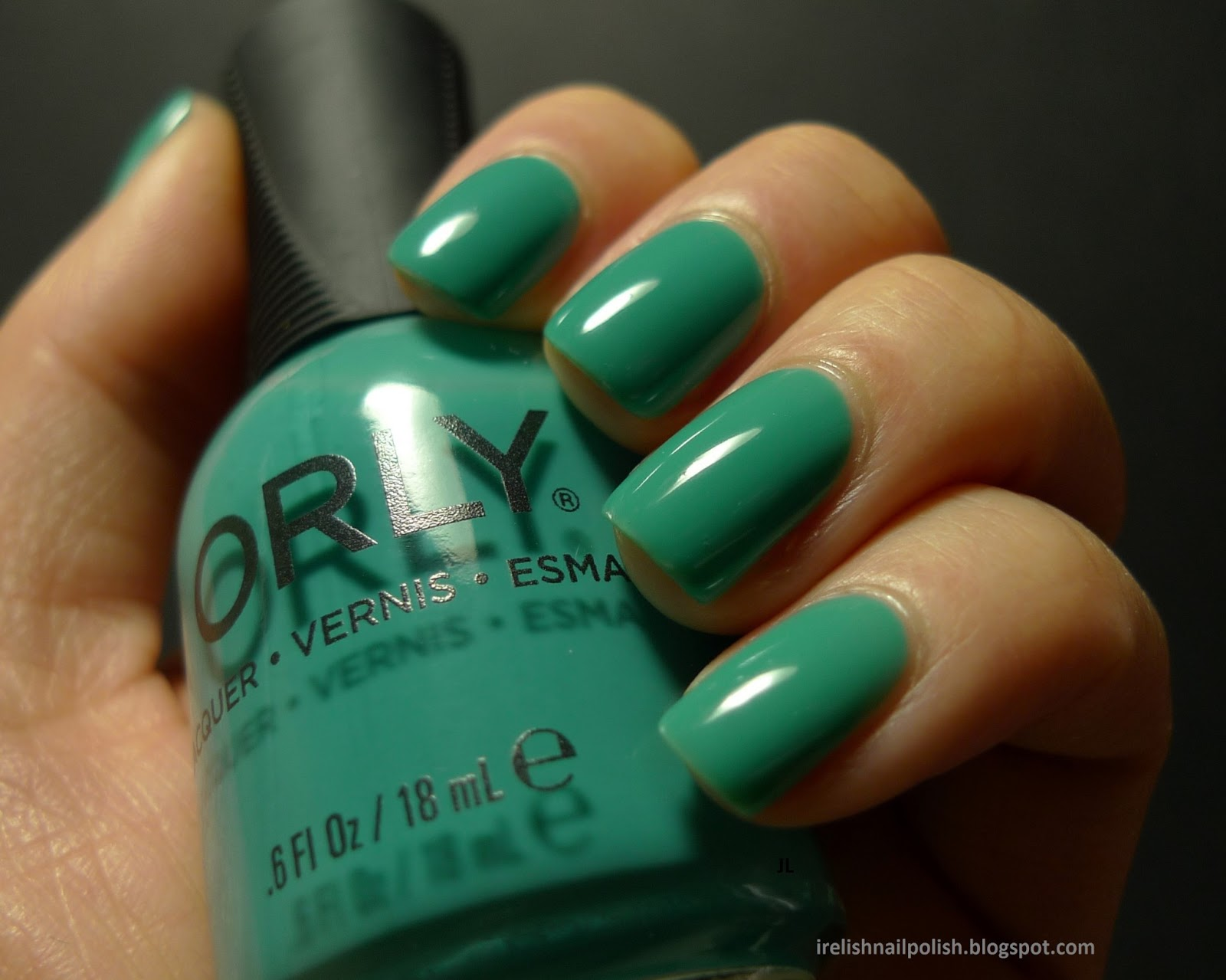 I relish nail polish orly green with envy and haul swatches i cant seem to get enough teal this winter heres another one orlys green with envy this is an old polish but a good one it goes on sheer and milky geenschuldenfo Image collections