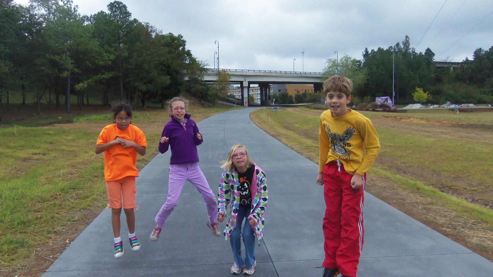 Ambassadors From The Orion School Visit The Atlanta Beltline Opening