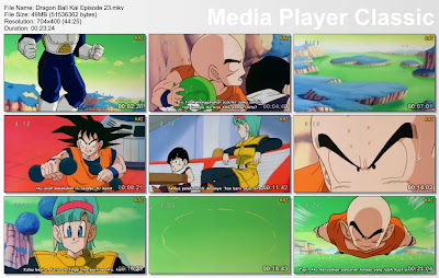 "Download Film / Anime Dragon Ball Kai Episode 23 ""Pergerakan Sembunyi-Sembunyi Vegeta! Pembunuhan Tragis Terhadap Manusia Namek"" Bahasa Indonesia"