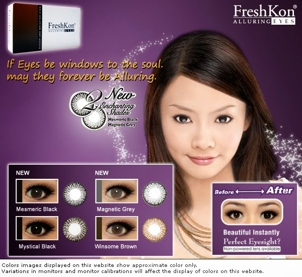 Freshkon Alluring Eyes in Winsome Brown