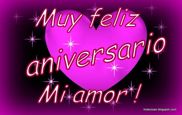 Feliz Aniversario Amor en Español Feliz Aniversario mi Amor