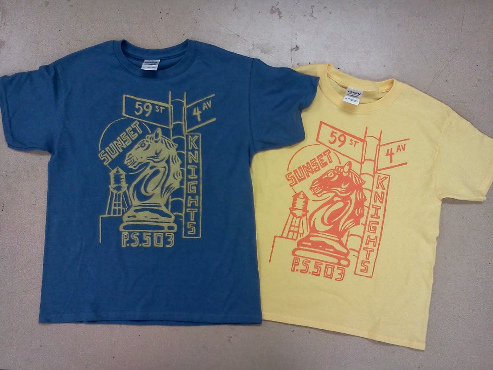Sunset Knight T-shirts only $15 (shipping inc.)!  Click on the T-shirt pic to order.