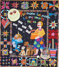 Candy&#39;s Full Moon Story Quilt