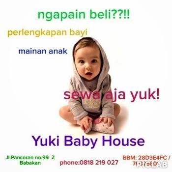 Persewaan Perlengkapan Bayi