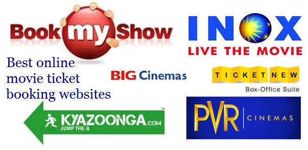 online movie booking websites