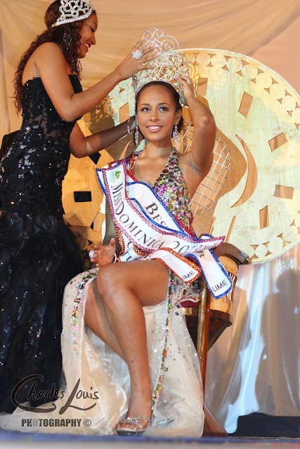 Miss Dominica 2013 winner Leslassa Adey Armour Shillingford