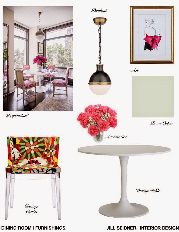 Jill seidner interior design concept boards for Apartment design criteria