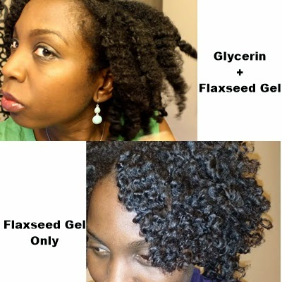 Glycerin and Flaxseed Gel