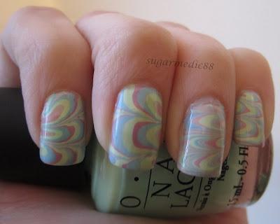Pastel Spring Water Marble