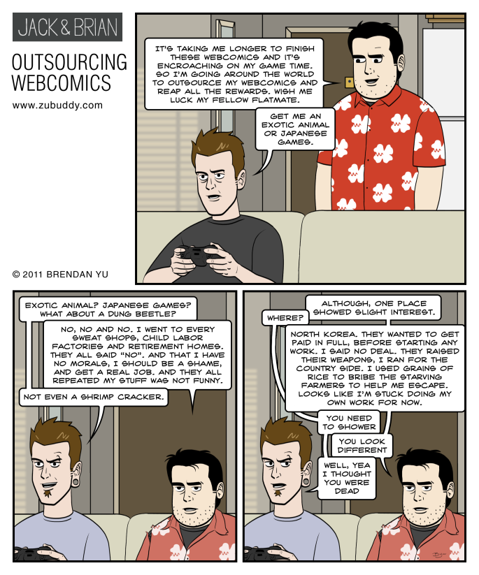 Outsourcing Webcomics