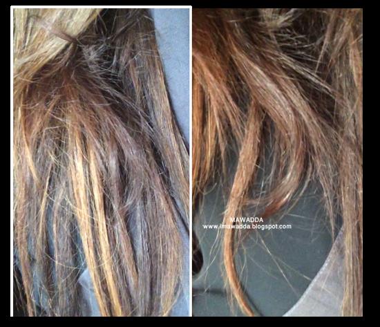 كيف صبغت شعري بالبيت طريقة عنايتي بشعري بعد الصبغه وسحب اللون Mawadda Del Angel