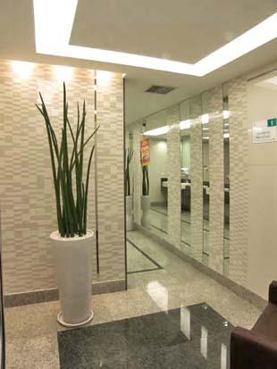 Hall de entrada pra se inspirar luxos e luxos - Decoracion hall de entrada edificios ...