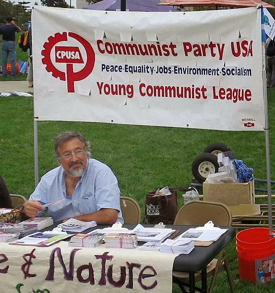 A fala nova é pela natureza. Mas o pensamento é do velho comunismo. People's Climate Rally, Oakland, Califórnia, 23.9.2014