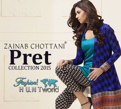 Pret Collection 2015 By Zainab Chottani | Pret Dresses With Stylish Jackets
